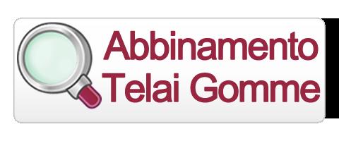 Scegli la combinazione giusta di Gomma e Telaio